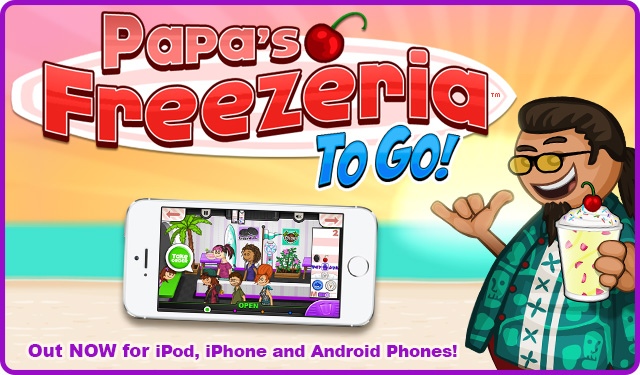 Papa's Freezeria To Go!