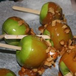Caramel Cookie Apples by Priya T.