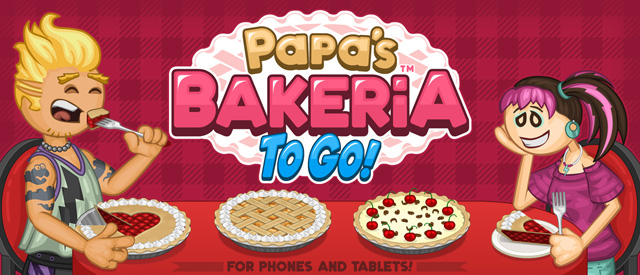 Out Now Papa S Bakeria To Go Games Flipline Studios Blog
