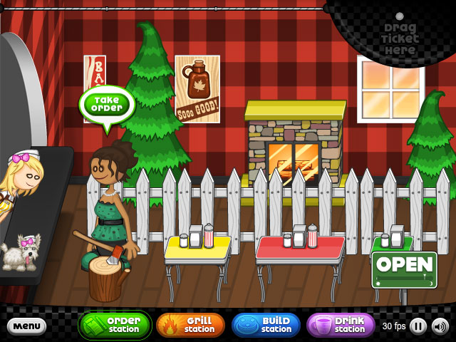 Papa S Pancakeria Free Flash Game Flipline Studios